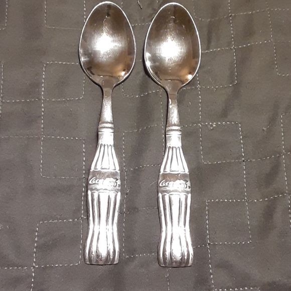 Vintage Gibson Stainless Flatware COCA COLA Soup Spoon